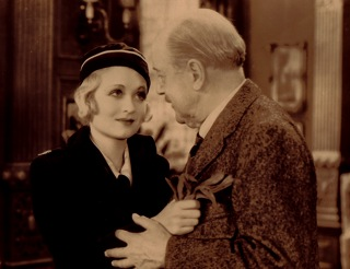 Constance Bennett and Frederick Kerr, in the role of Lord Ponsonby